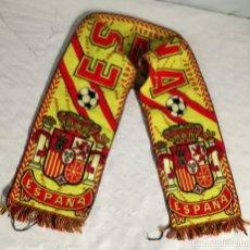 Coleccionismo deportivo: BUFANDA DE ESPAÑA: 130 CM DE LARGO (EI). Lote 124157523