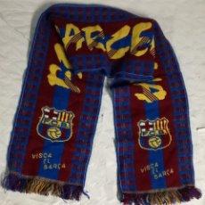 Coleccionismo deportivo: BUFANDA F.C. BARCELONA: 130 CM DE LARGO (EI). Lote 124157543