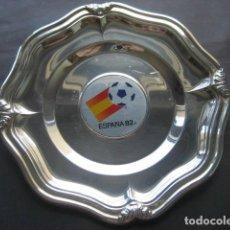 Coleccionismo deportivo: PLATITO O BANDEJA MUNDIAL DE FUTBOL ESPAÑA 1982. NARANJITO. Lote 124666199