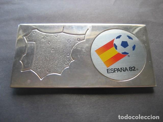 PISAPAPELES MUNDIAL DE FUTBOL ESPAÑA 1982. NARANJITO (Coleccionismo Deportivo - Merchandising y Mascotas - Futbol)