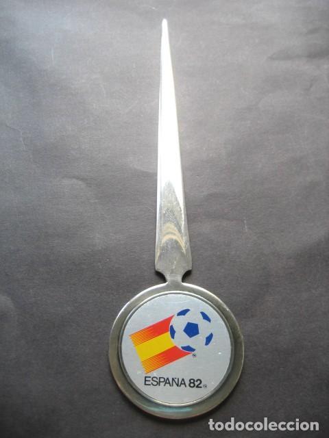 ABRECARTAS MUNDIAL DE FUTBOL ESPAÑA 1982. NARANJITO (Coleccionismo Deportivo - Merchandising y Mascotas - Futbol)