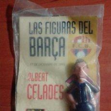 Coleccionismo deportivo: LAS FIGURAS DEL BARÇA - F.C.B. - ALBERT CELADES - EL MUNDO DEPORTIVO - 1995. Lote 125028199
