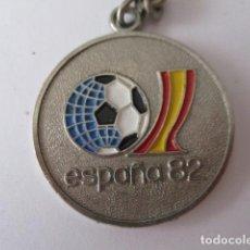 Coleccionismo deportivo: LLAVERO CANARIAS CON EL MUNDIAL DE ESPAÑA 1982. Lote 125235731