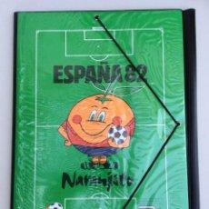 Coleccionismo deportivo: MUNDIAL 82 - CARPETA ESCOLAR NARANJITO ESPAÑA 82 - MODELO 1 . Lote 125963619