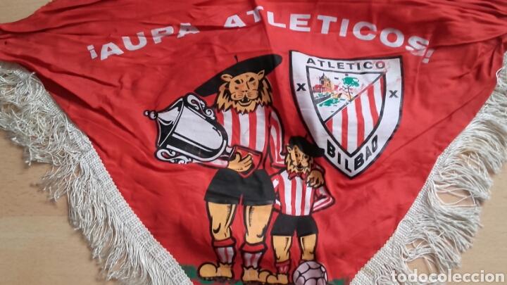Coleccionismo deportivo: Pañuelo de Antigua Final de Copa del ATLÉTICO BILBAO. - Foto 2 - 126048434