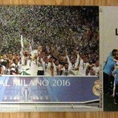 Coleccionismo deportivo: EN EL CORAZON DE LA UNDECIMA (DVD) FUNDACION REAL MADRID UEFA CHAMPIONS LEAGUE FINAL MILAN 2016. Lote 126775451