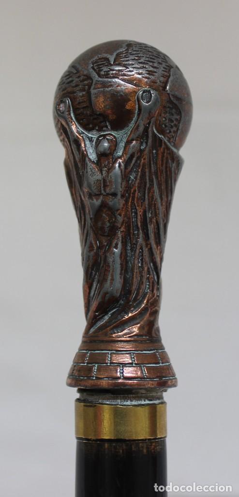Coleccionismo deportivo: BASTÓN COPA DEL MUNDIAL DE FÚTBOL DE LA FIFA - Foto 5 - 127586319