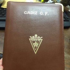 Coleccionismo deportivo: AGENDA XXXVIII TROFEO RAMON DE CARRANZA FUTBOL - CADIZ - REAL MADRID - SAO PAULO - PSV EINDHOVEN. Lote 127860719