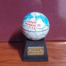 Coleccionismo deportivo: SACAPUNTAS MUNDIAL ESPAÑA 1982 PLAYME. Lote 128860055