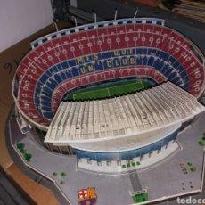 Coleccionismo deportivo: MAQUETA DEL ESTADIO CAMP NOU - FC BARCELONA. Lote 128875843