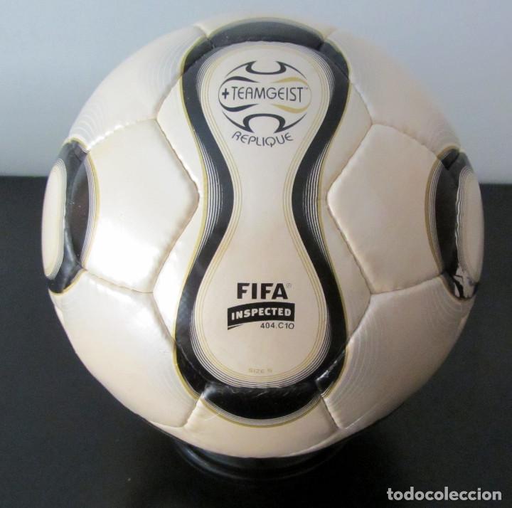 BALON FUTBOL TEAMGEIST MUNDIAL ALEMANIA 2006 BALL FIFA WORLD CUP FOOTBALL  GERMANY (Coleccionismo Deportivo - 52a931bdcaf8d
