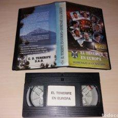 Coleccionismo deportivo: VHS - EL CD TENERIFE EN EUROPA. Lote 184284781