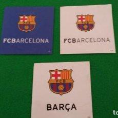 Coleccionismo deportivo: PEGATINAS FC BARCELONA. Lote 130831932