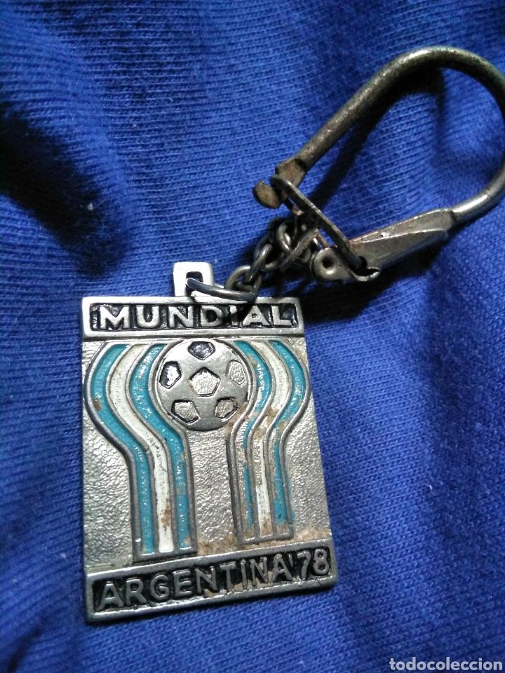 LLAVERO MUNDIAL FUTBOL ARGENTINA 1978 (Coleccionismo Deportivo - Merchandising y Mascotas - Futbol)
