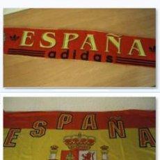 Coleccionismo deportivo: LOTE BUFANDA Y BANDERA ESPAÑA. Lote 130983372
