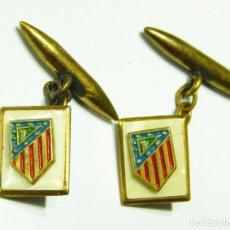 Coleccionismo deportivo: GEMELOS ATLETICO DE MADRID. AÑOS 50.. Lote 131133552