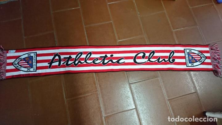 BUFANDA OFICIAL ATHLETIC CLUB BILBAO (Coleccionismo Deportivo - Merchandising y Mascotas - Futbol)