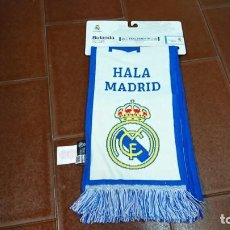 Coleccionismo deportivo: BUFANDA OFICIAL REAL MADRID, NUEVA. Lote 131841910