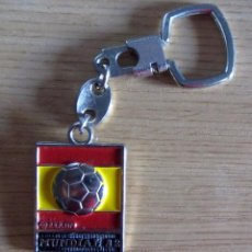 Coleccionismo deportivo: LLAVERO FUTBOL KEYRING FOOTBAL MUNDIAL ESPAÑA 1982 FIFA WORLD CUP FOOTBALL SPAIN 82. Lote 132008198