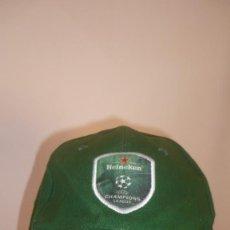 Coleccionismo deportivo: GORRA HEINEKEN - CHAMPIONS LEAGUE (A ESTRENAR). Lote 132022718