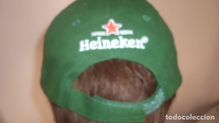Coleccionismo deportivo: Gorra Heineken - Champions League (a estrenar) - Foto 4 - 132022718