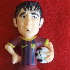 Coleccionismo deportivo: DAVID VILLA F.C. BARCELONA RFEF 2010 FIGURA PVC 7 CM. Lote 132231290