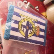 Coleccionismo deportivo: PACK CARTERA Y LLAVERO DEPORTIVO DE LA CORUÑA . Lote 132283146
