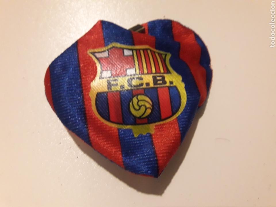 Antiguo Corazon Barça Fc Barcelona Con Escudo Y Kaufen Fußball