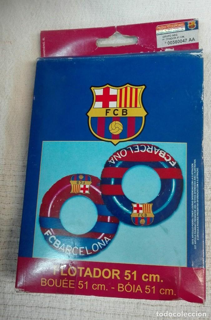 FLOTADOR DEL FC. BARCELONA (Coleccionismo Deportivo - Merchandising y Mascotas - Futbol)