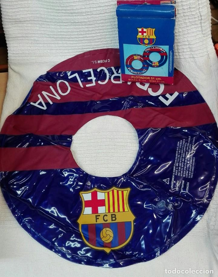 Coleccionismo deportivo: Flotador del Fc. Barcelona - Foto 4 - 132912470