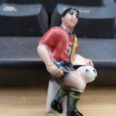 Coleccionismo deportivo: JUGADORES PORCELANA SELECCION ESPAÑOLA FUTBOL RFEF 1998. Lote 132920038