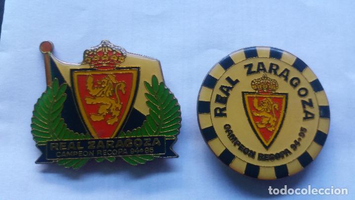 IMANES REAL ZARAGOZA CAMPEON RECOPA 94/95 (Coleccionismo Deportivo - Merchandising y Mascotas - Futbol)