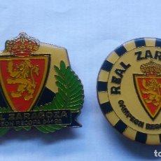 Coleccionismo deportivo: IMANES REAL ZARAGOZA CAMPEON RECOPA 94/95. Lote 132921974