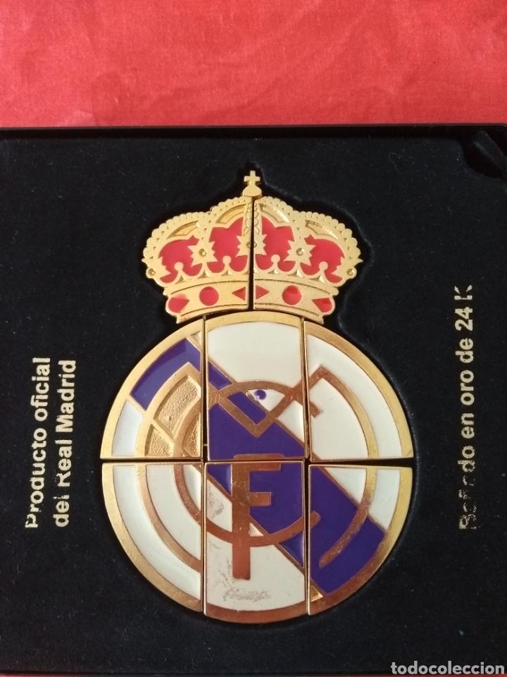 ESCUDO OFICIAL DEL REAL MADRID (Coleccionismo Deportivo - Merchandising y Mascotas - Futbol)