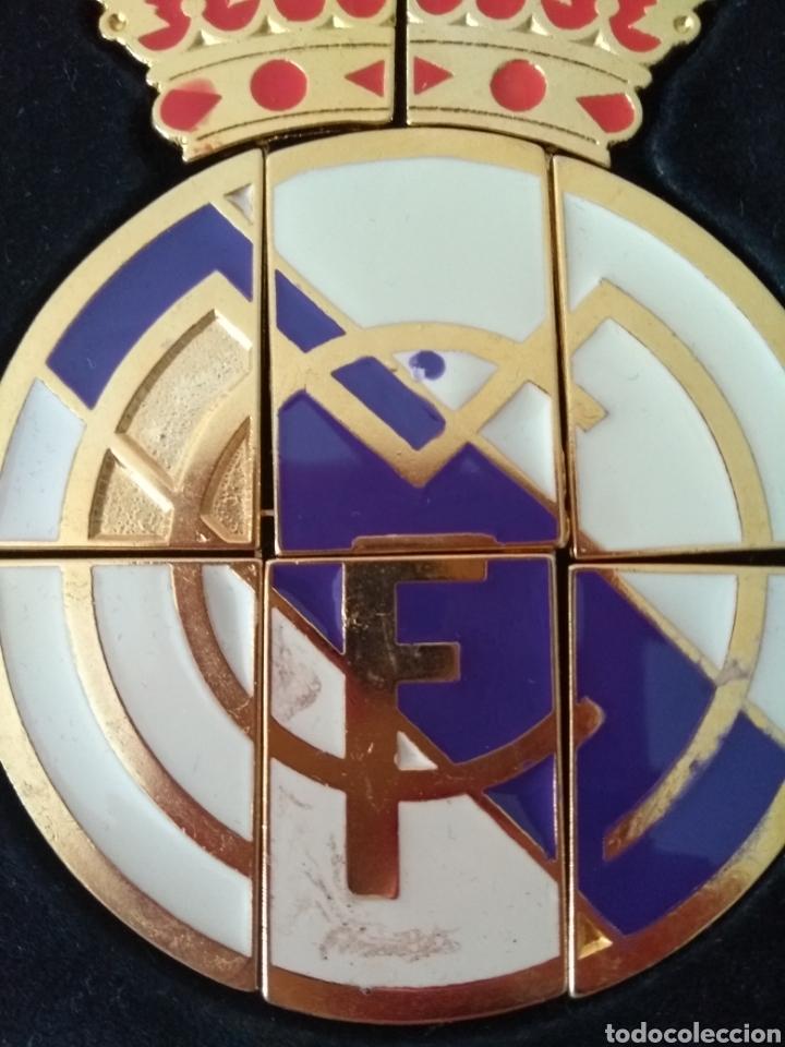 Coleccionismo deportivo: Escudo oficial del real Madrid - Foto 4 - 133370362