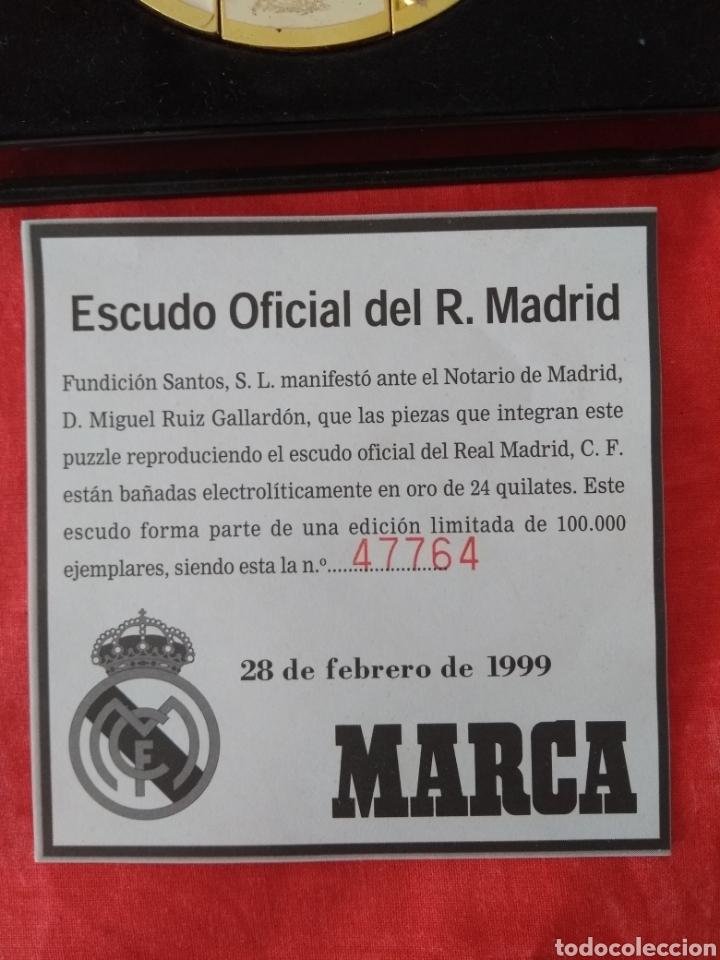 Coleccionismo deportivo: Escudo oficial del real Madrid - Foto 2 - 133370362
