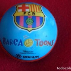 Coleccionismo deportivo: BARÇA TOONS PELOTA SE GOMA F.C. BARCELONA. Lote 133492202