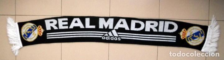 BUFANDA SCARF FUTBOL REAL MADRID - ADIDAS - ORIGINAL - FOOTBALL (Coleccionismo Deportivo - Merchandising y Mascotas - Futbol)
