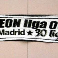 Coleccionismo deportivo: BUFANDA SCARF REAL MADRID CAMPEON LIGA 06/07 30 LIGAS - SPANISH FOOTBALL. Lote 134000538