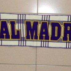 Coleccionismo deportivo: BUFANDA FÚTBOL REAL MADRID - SCARF FOOTBALL SPANISH - NUEVA NEW!!!. Lote 134001142