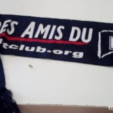 Coleccionismo deportivo: G-KIKO54 BUFANDA DE FUTBOL RETRO PSG PARIS SAINT GERMAIN. Lote 134006438