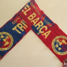 Coleccionismo deportivo: BUFANDA FC BARCELONA TRIPLETE 2009. Lote 134065850