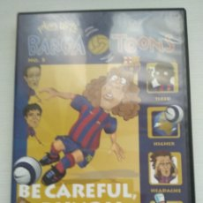 Coleccionismo deportivo: LOTE 7 BARÇA TOONS DVD INGLÉS. Lote 134078607