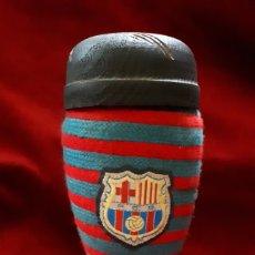 Coleccionismo deportivo: BOTA DEL F.C. BARCELONA / BARÇA / BOTELLA BRANDY. Lote 134152782