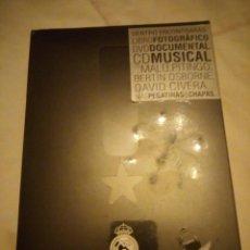 Coleccionismo deportivo: REALVOLUTION / CD + DVD + CHAPAS + ADHESIVOS + FOTO-LIBRO . PRECINTADO.2009. Lote 135028846