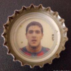 Coleccionismo deportivo: CHAPA COCA-COLA - FUTBOL CLUB BARCELONA - FUTBOLISTA. Lote 135044214
