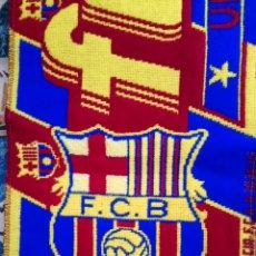 Coleccionismo deportivo: BUFANDA FC BARCELONA. Lote 135362413