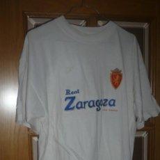 Coleccionismo deportivo: CAMISETA DEL REAL ZARAGOZA M/C DE ALGODÓN. Lote 135393586