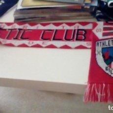 Coleccionismo deportivo: G-PC13CP BUFANDA DE FUTBOL ATHLETIC CLUB BILBAO VER FOTO. Lote 135605058