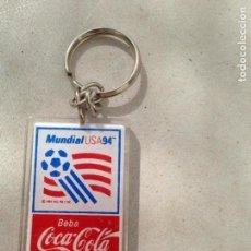 Coleccionismo deportivo: LLAVERO COCA COLA MUNDIAL FUTBOL USA 94. Lote 135640571